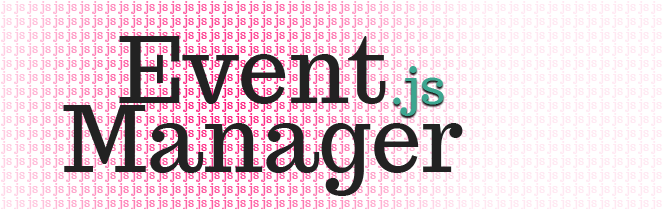 JavaScript Event Manager