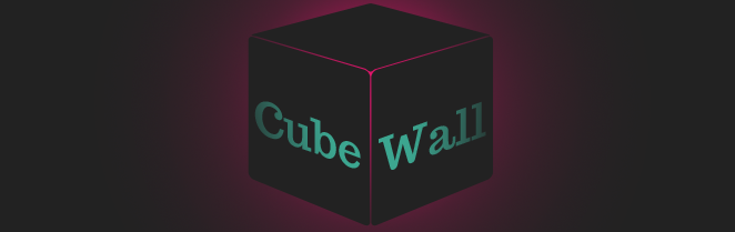 Three.js CubeWall